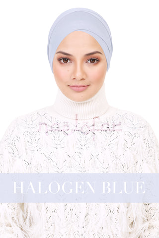 BE LOFA TURBAN - HALOGEN BLUE