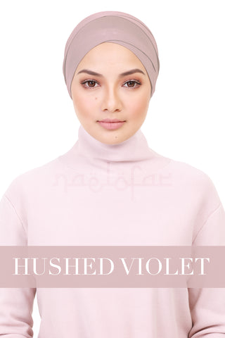 BE LOFA TURBAN - HUSHED VIOLET