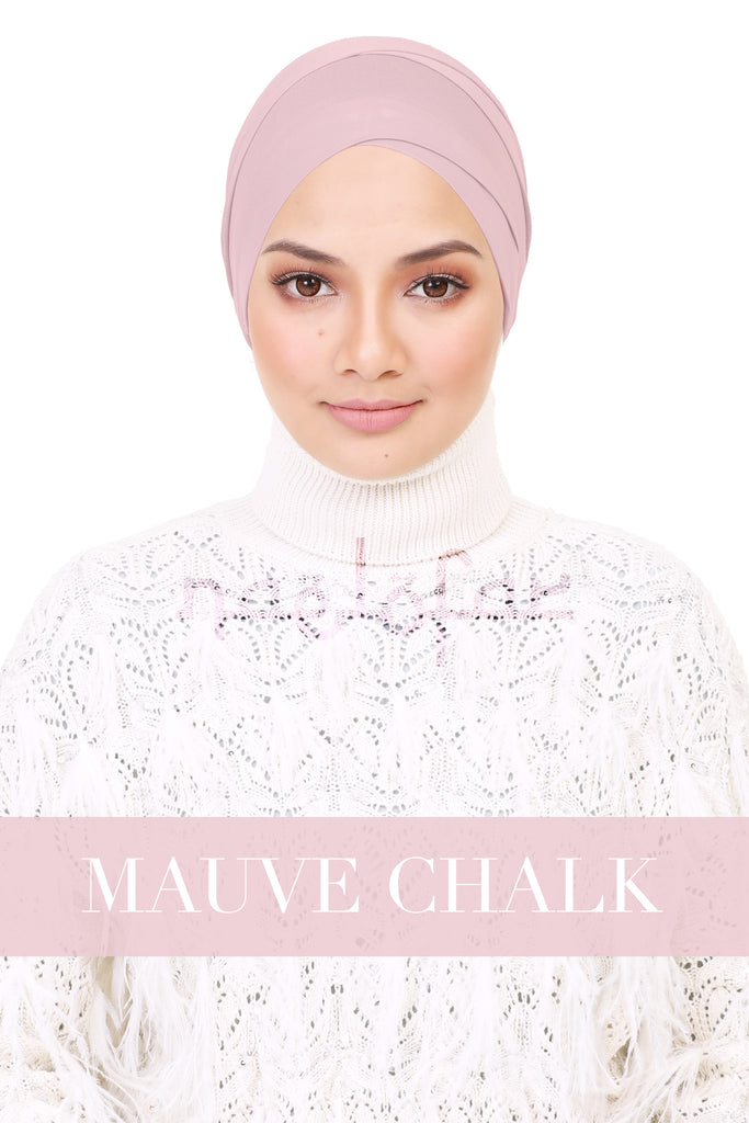 BE LOFA TURBAN - MAUVE CHALK