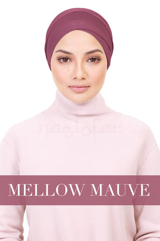 BE LOFA TURBAN - MELLOW MAUVE