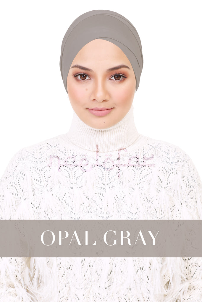 BE LOFA TURBAN - OPAL GRAY