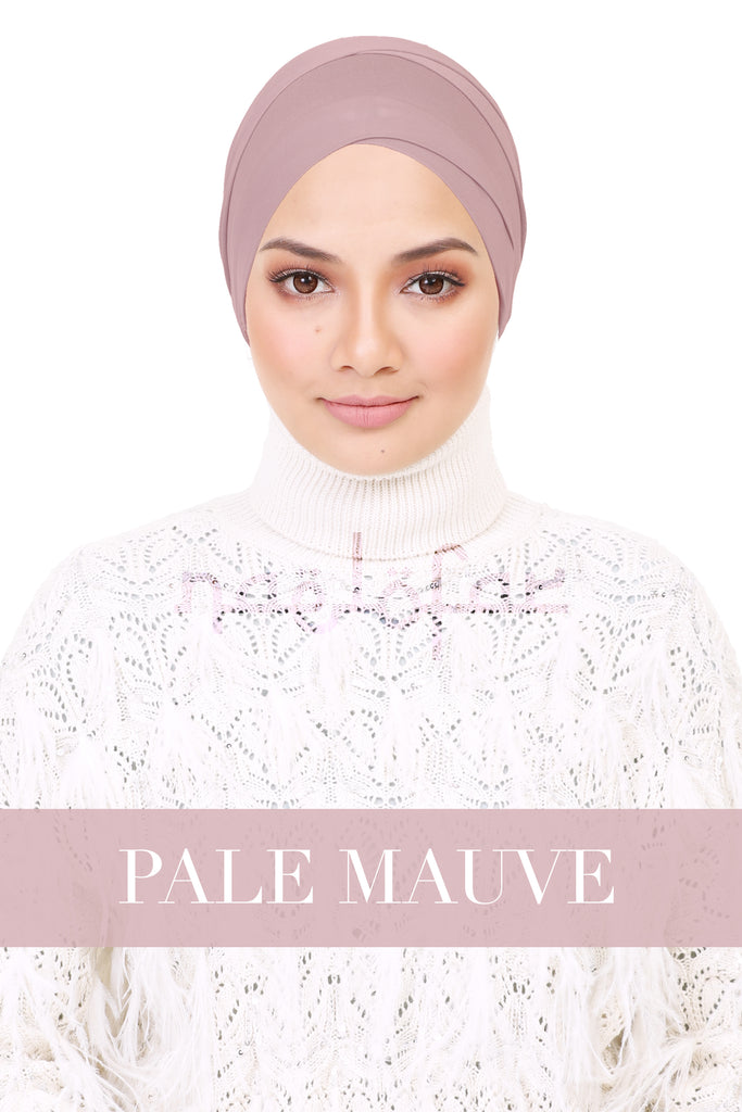 BE LOFA TURBAN - PALE MAUVE
