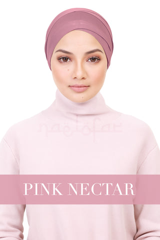 BE LOFA TURBAN - PINK NECTAR