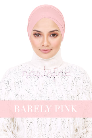 BE LOFA TURBAN - BARELY PINK