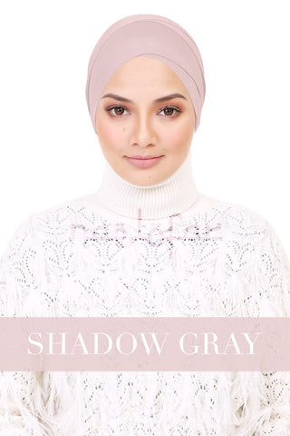 BE LOFA TURBAN - SHADOW GRAY