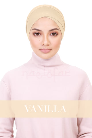 BE LOFA TURBAN - VANILLA