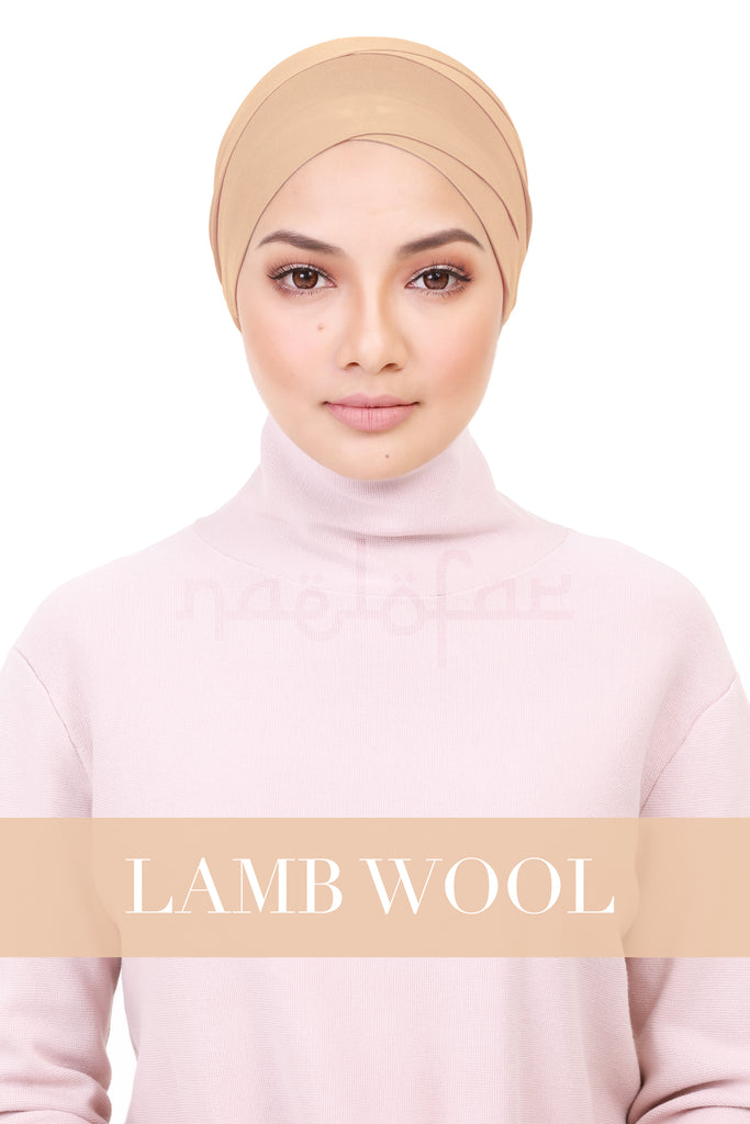 BE LOFA TURBAN - LAMB'S WOOL