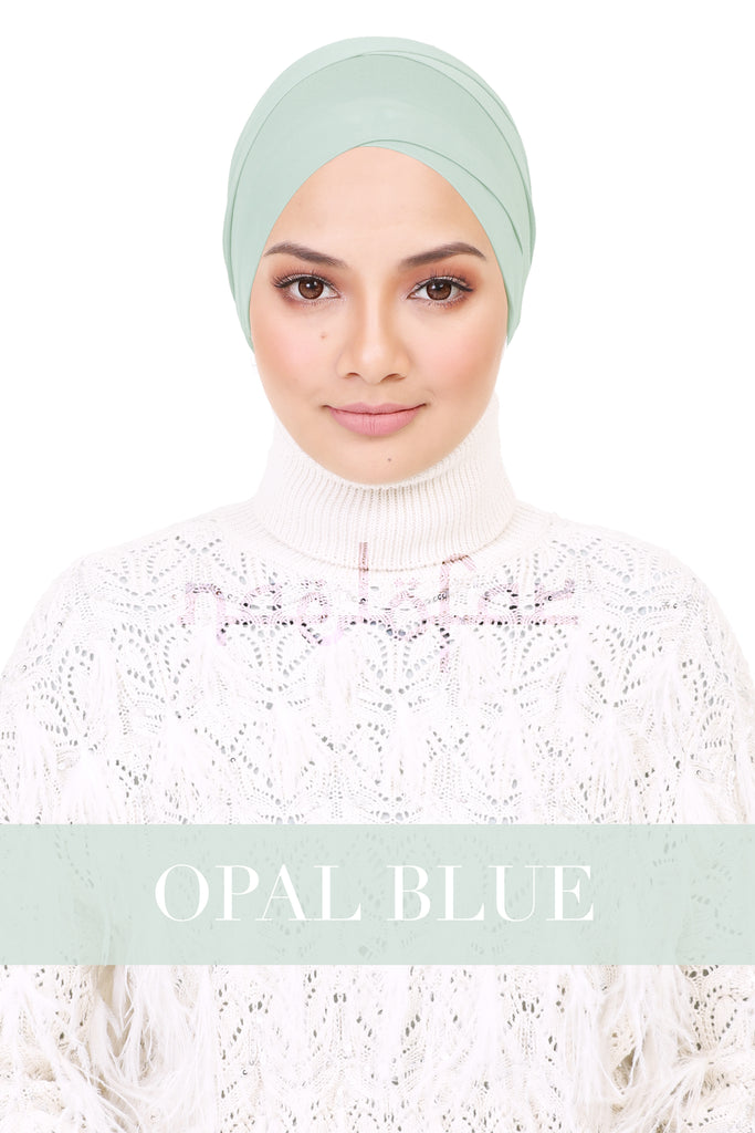 BE LOFA TURBAN - OPAL BLUE