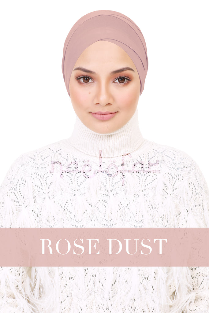 BE LOFA TURBAN - ROSE DUST