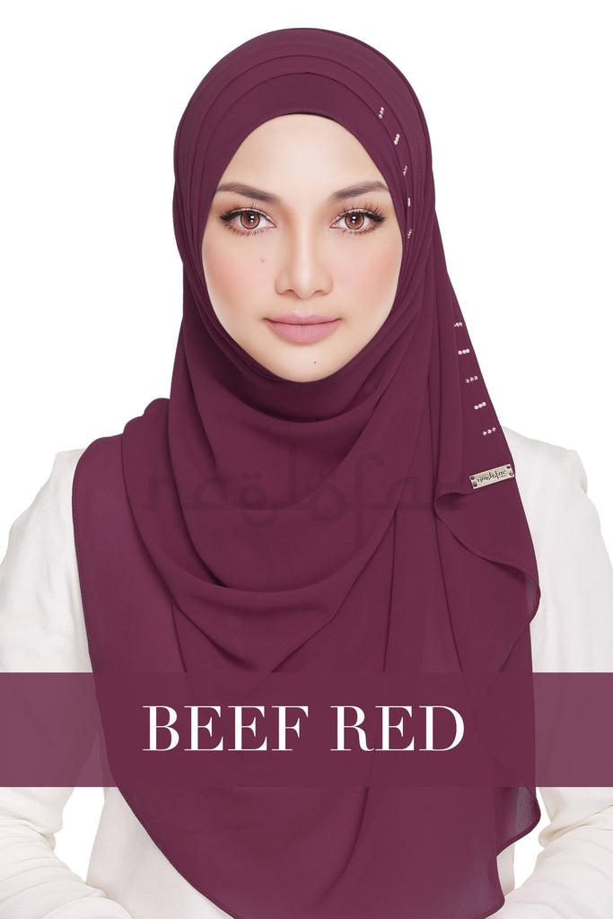 QUEEN WARDA - BEEF RED