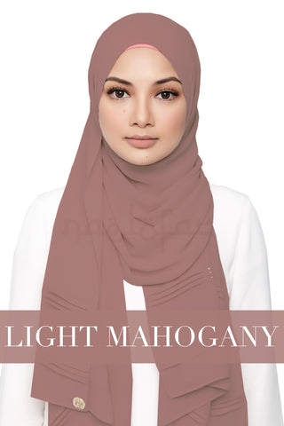 ZEHRA - LIGHT MAHOGANY