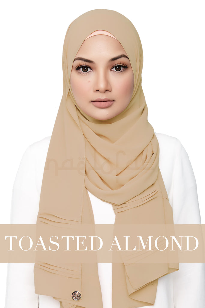 ZEHRA - TOASTED ALMOND