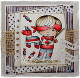 Sample by Becky Hetherington for La La Land Crafts