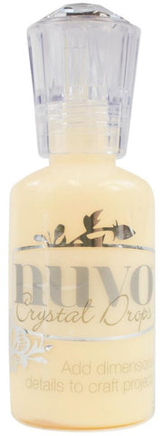 "Nuvo ""Buttermilk"" Crystal Drops"