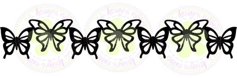 "C.C. Designs ""Butterfly Border"" Die"