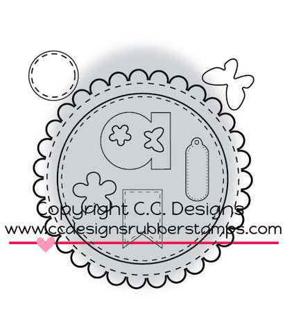 "CC Designs ""Make A Card #3"" Die Set"