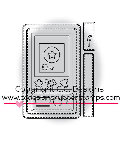 "CC Designs ""Make A Card #4"" Die Set"
