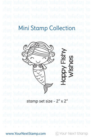 "Your Next Stamp ""Mini Happy Days"" Clear Stamp"