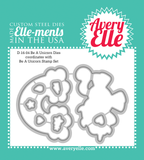"Avery Elle ""Be A Unicorn"" Metal Outline Die"