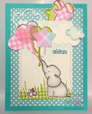 "Avery Elle ""Ellie"" 3"" x 4"" Clear Stamp Set"