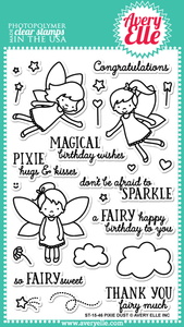 "Avery Elle ""Pixie Dust"" Clear Stamp"