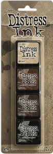 Tim Holtz/Ranger Ink Distress Mini Ink Pad Pack #3
