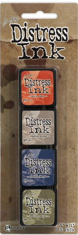 Tim Holtz/Ranger Ink Distress Mini Ink Pad Pack - Kit # 5