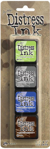 Tim Holtz/Ranger Ink Distress Mini Ink Pad Pack #14
