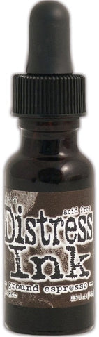"Tim Holtz/Ranger Ink Distress ""Ground Espresso"" Reinker"