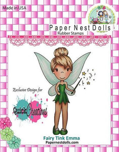 "The Paper Nest Dolls EXCLUSIVE ""Fairy Emma"" Rubber Stamp"