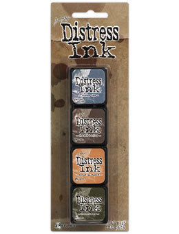 Tim Holtz/Ranger Ink Distress Mini Ink Pad Pack #9