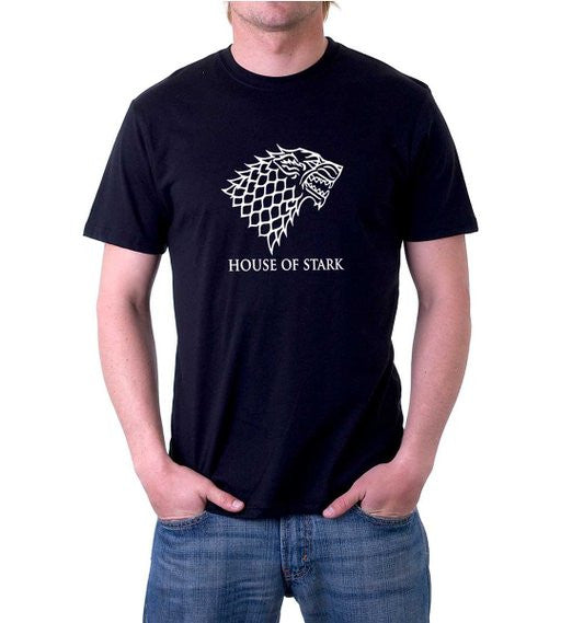 men's house of Stark t-shirt from Game of Thrones