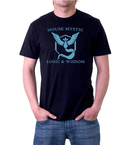 Pokemon Go Team House Mystic T-Shirt for Men