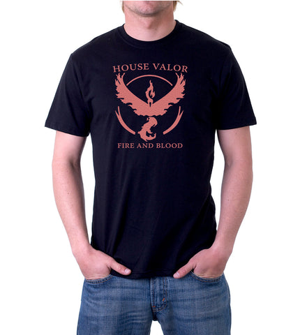 Men's House Valor T-Shirt for Team Valor