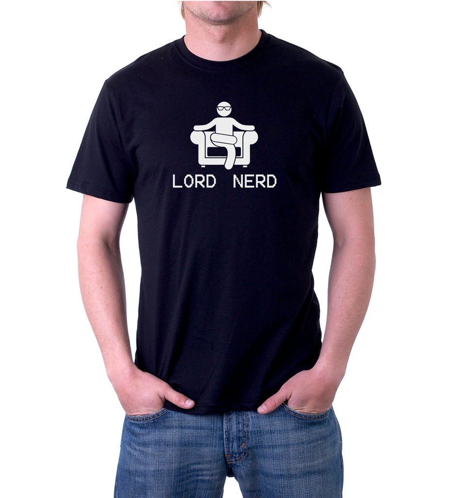 Lord of the nerds shirt for men