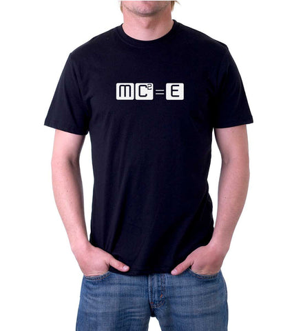 Men's MC Squared Equals E T-Shirt