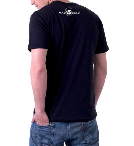 Computer problem back t-shirt for men