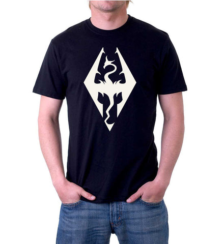Skyrim Dragon Imperial Legion Heraldry T-Shirt for Men
