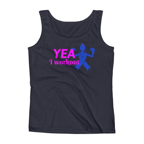 Yea I Workout Tank for Women