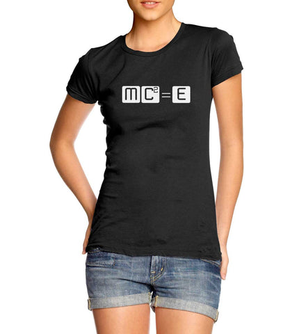 Women's MC Squared Equals E T-Shirt