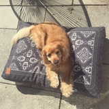 SIDE KICK PET BED - BLACK