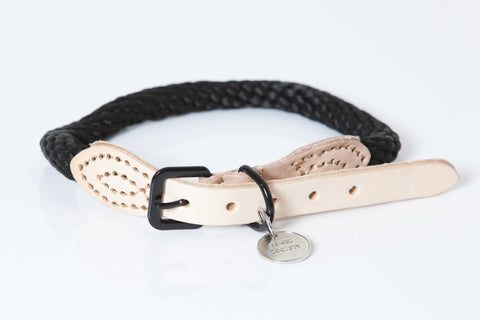 THE CAPTAIN COLLAR - BLACK