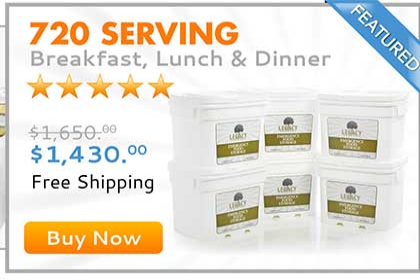 720 SERVING MEAL PACKAGE