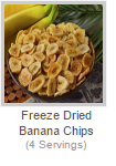 FREEZE-DRIED BANANA CHIPS