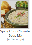 SPICY CORN CHOWDER SOUP MIX