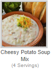 CHEESY POTATO SOUP MIX