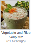 VEGETABLE AND RICE SOUP MIX