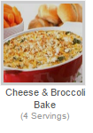 CHEESE & BROCCOLI BAKE