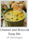 CHEESE AND BROCCOLI SOUP MIX
