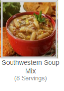 Southwestern Soup Mix(8 Servings)
